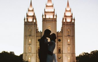John & Kamera Wedding | Salt Lake Temple