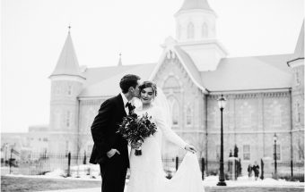 Anne & Matt | Provo City Center Temple Wedding